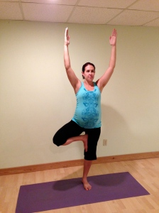 Prenatal Tree Pose Pregnancy Yoga