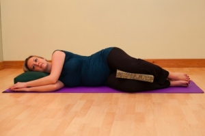 pregnancy savasana
